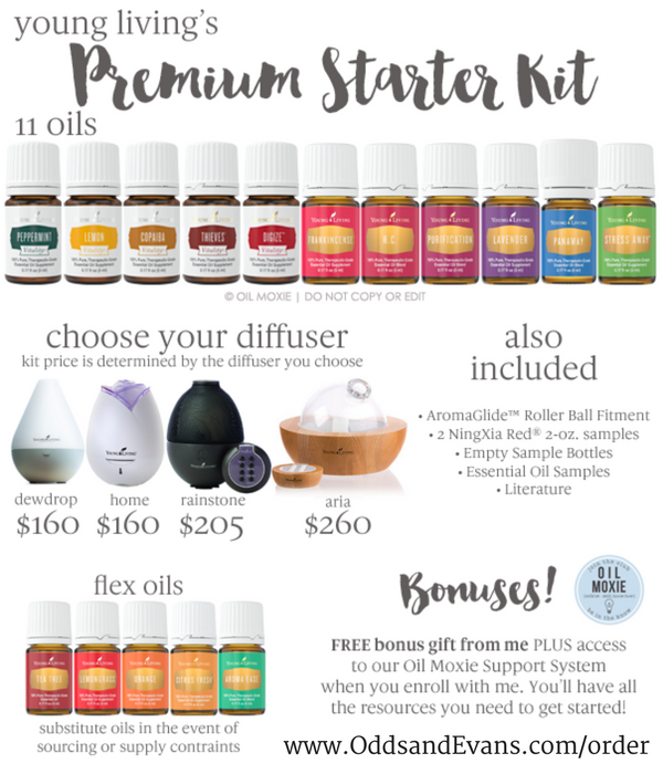 2016 Premium Starter Kit Young Living Essential Oils