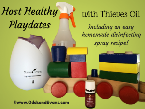 Have a healthy playdate with Thieves oil