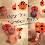 Bath Tub Pumpkin Craft Foam