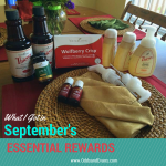 My September Essential Rewards