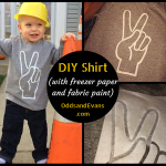 Freezer Paper Shirt Title