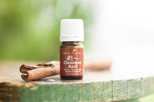 Cinnamon Essential Oil for Homemade Cinnamon Vanilla Sugar Scrub with free printable label - www.OddsandEvans.com