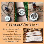 diffuser jewelry giveaway lowcountry eclectic