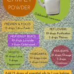 Natural Carpet Powder Homemade Deodorizer #essentialoils #youngliving