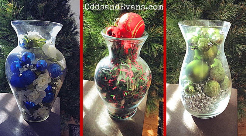 Decorating Ideas > Christmas Vases  DIY Decorations For The Holidays  Odds  ~ 174956_Christmas Vase Decoration Ideas