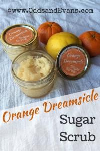 orange dreamsicle sugar scrub homemade citrus