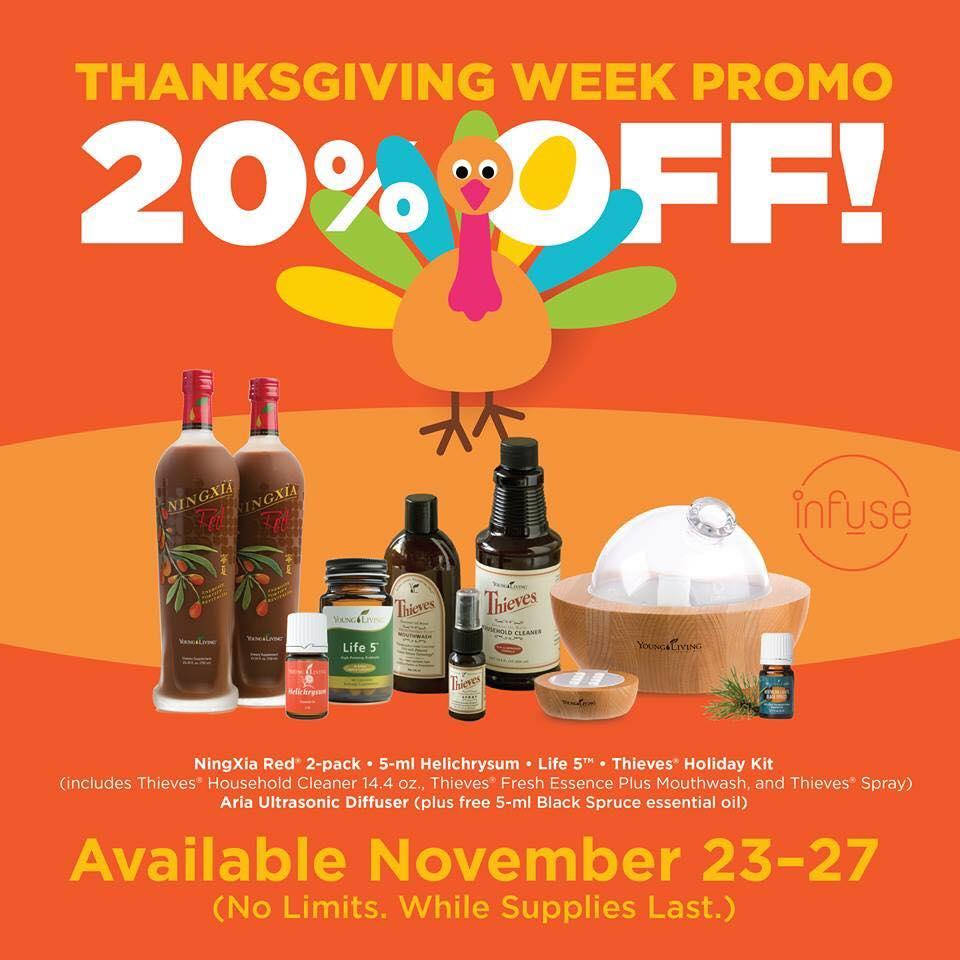 Thanksgiving Week Deals On Essential Oils Odds Amp Evans