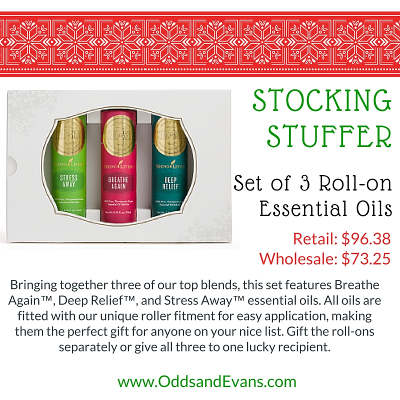 Essential Oil Stocking Stuffers - Part 1 - Odds U0026 Evans