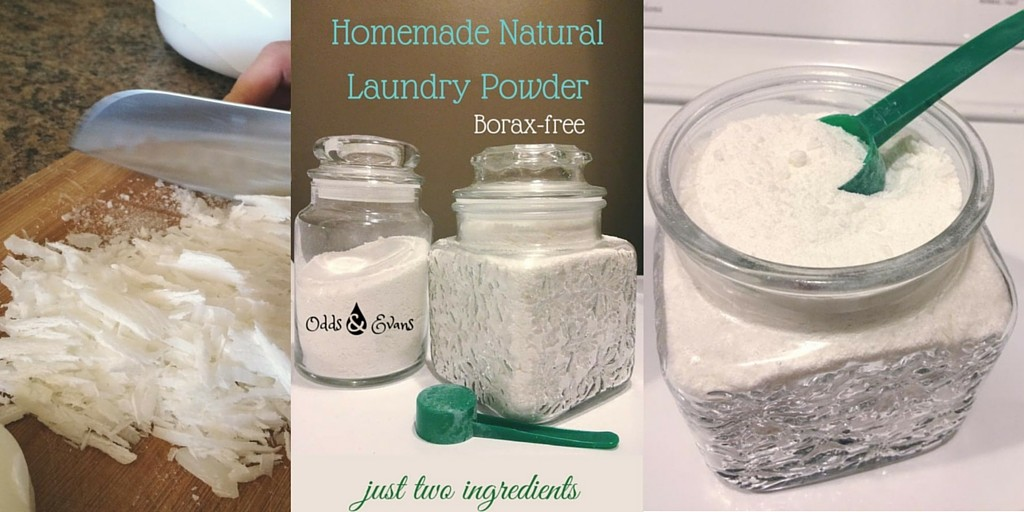 Homemade Natural Laundry Powder Recipe Borax Free