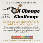 Take the essential oil change challenge to learn how to use your oils