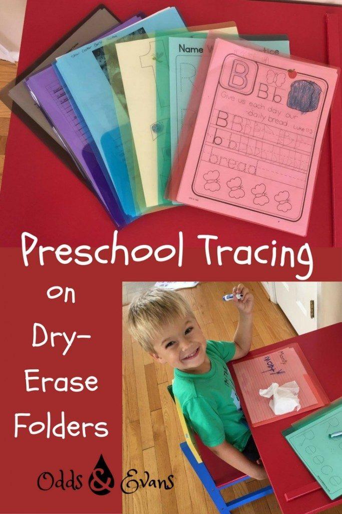 preschool printable free tracing dry erase activity stemsfx folder review