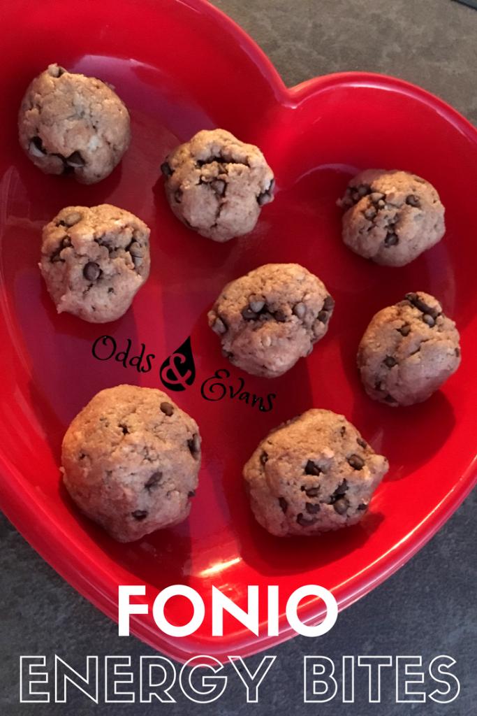 Fonio recipe Energy Balls Gluten-free dairy-free vegan