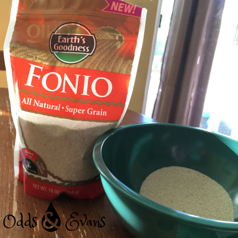 Earth's Goodness Fonio Recipe Bag and Seeds Square