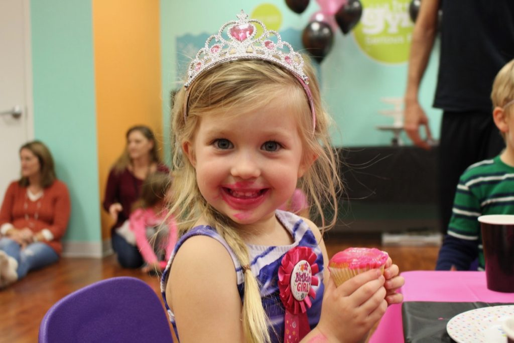 The Little Gym of Frederick Birthday Party Planning Easy Princesses and Pirates Cupcake Smile