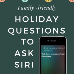 Holiday Questions to Ask Siri Christmas Hanukkah Kwanzaa New Year Thanksgiving